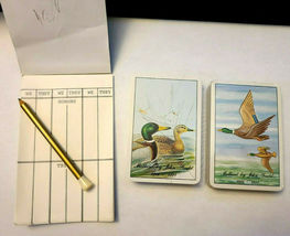 Mallards Metal Box Double Deck Playing Cards image 6