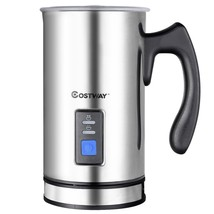 Electric Automatic Milk Frother For Hot or Cold Milk - $65.35 CAD