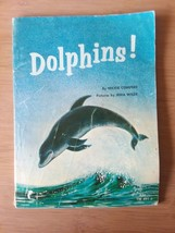 """VINTAGE 1964 """"DOLPHINS"""" SCHOLASTIC PAPERBACK BOOK BY MICKIE COMPERE - $5.93"""