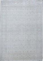 Formal City Rug 9' x 12' Wool & Silk Fine 12/60 Quality Rug FINE WEAVE C... - $1,284.78