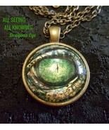 The Great - ALL SEEING ALL KNOWING The Dragons Eye magickal Talisman - $132.00