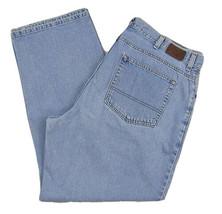 L.L. Bean 1912 Regular Fit Straight Leg Jeans Men's W40 X L30 100% Cotton - $28.68