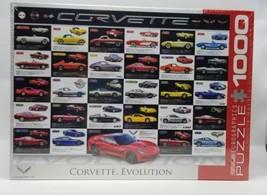 New Corvette Evolution 1,000 piece jigsaw puzzle - $24.12