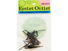 Eyelet Outlet Rifle Brads, 12 Count