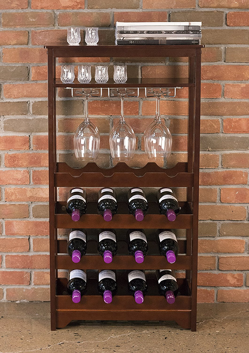 Floor Standing Wooden Wine Rack Bottle And 50 Similar Items