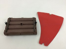 Playmobil 7198 Pirates Raft Replacement Base Sail Pieces Parts 1998 - $10.84