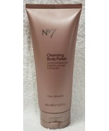 Boots No7 CLEANSING BODY POLISH Exfoliate Brighter Younger Skin 6.7 oz/2... - $39.60