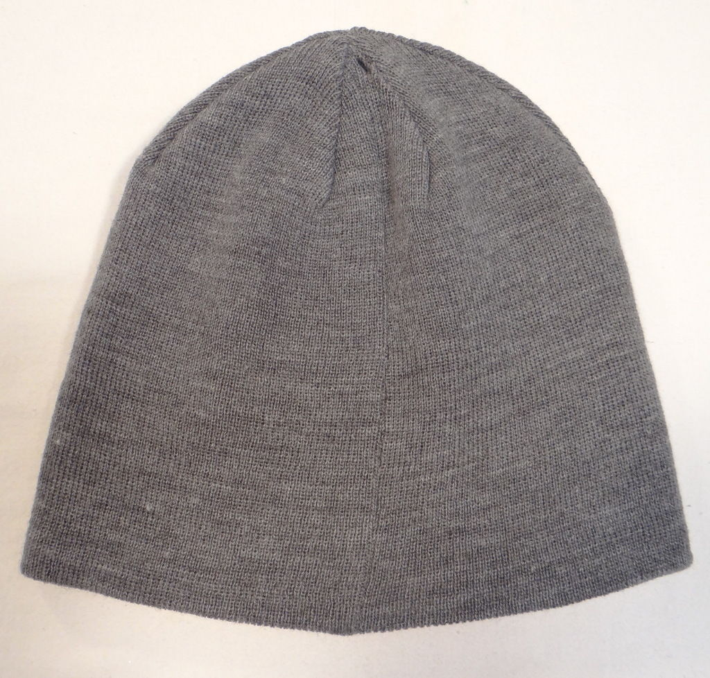 Calvin Klein Reversible Gray Knit Beanie and similar items 017def1c51f