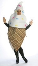 Ice Cream Cone Costume Food Halloween Party Unique Cheap GC7153 - $59.99