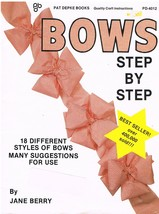 How to Make Bows Step By Step Craft Book - $6.99