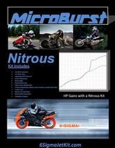 Suzuki U50 U 50 cc Moped NOS Nitrous Oxide Injection Kit & Boost Bottle - $89.50