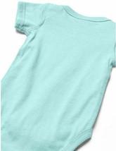 Marky G Apparel Baby Boys' Fine Jersey Bodysuit 2 pack Black/Chill Blue  image 2