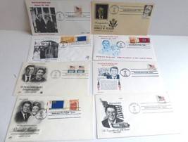 RONALD REAGAN INAUGURATION DAY COVERS (8) 1981 Mint - $9.40