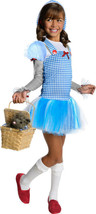 Dorothy Hooded Tutu Wizard of Oz Fancy Dress Up Halloween Costume Size M 5-7yrs - £13.81 GBP