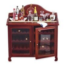 Dollhouse Gentleman's Liquor Bar 1.788/0 Reutter Filled Dollhouse Miniature - $122.15