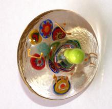 Murano Glass Handmade Dreidel Sevivon Hanukkah Judaica Italy Venice Murrina  image 1