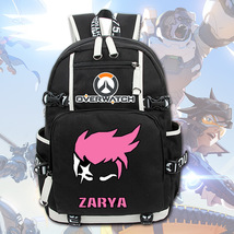 Overwatch Theme Backpack Schoolbag Daypack Bookbag - $43.30 CAD