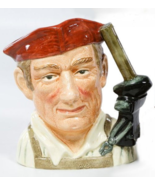 "7 1/4"" Royal Doulton Character Jug ""Blacksmith "" D6571 - $46.95"