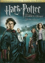 Harry Potter And The Goblet Of Fire DVD Daniel Radcliffe Emma Watson - $2.99
