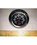 """21MM68 BBQ THERMOMETER, SMOKE HOLLOW, 3"""" DIAMETER, VERY GOOD CONDITION - $6.84"""