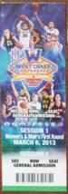 West Coast Conference Championships Las Vegas Mar 6 2013  Ticket Stub - $2.95