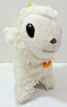 "Animal Fair Goat Horned Plush Stuffed Animal Toy White 1970s vintage 11"" - $14.82"