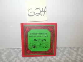Peanuts, Kohl's Christmas is together time book - $6.99