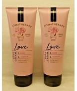 2 Love Rose + Vanilla Body Cream Aromatherapy Bath & Body Works 8 Oz - $155.92