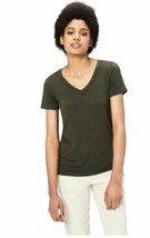 Daily Ritual Women's Jersey Short-Sleeve V-Neck T-Shirt, Forest Green XS