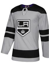 Adidas LA Los Angeles Kings NHL Authentic Hockey Third Jersey Gray Mens ... - $48.90