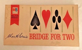 Milton Bradley Chas Goren's Bridge for Two No. 5610 - Fine Edition - 1964 NICE - $3.99