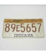Vintage Indiana Hoosier State Car Vehicle License Plate - $9.89