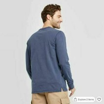 Goodfellow & Co™ Mens Standard Fit Long Sleeve Crew Neck T-Shirt Size Small NEW! image 2