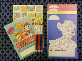 Paw Patrol Pop-Outz Color and Activity Kit