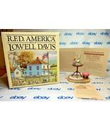 "Lowell Davis ""Open the Lid"" Figurine  1993 Schmid COA IOB Cat Fish - $272.23"