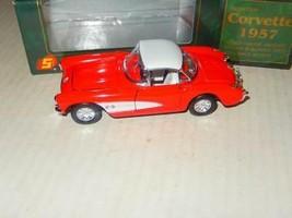 VINTAGE DIECAST- -'SUPERIOR' 1967 RED CORVETTE- BOXED- NEW- J81 - $14.20