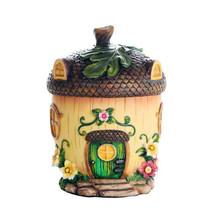 Pacific Giftware Miniature Fairy Garden of Enchantment Fairy Acorn Cotta... - $19.79