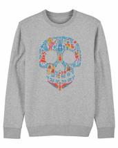 Disney Pixar Coco Skull Children's Unisex Grey Sweatshirt - $21.31
