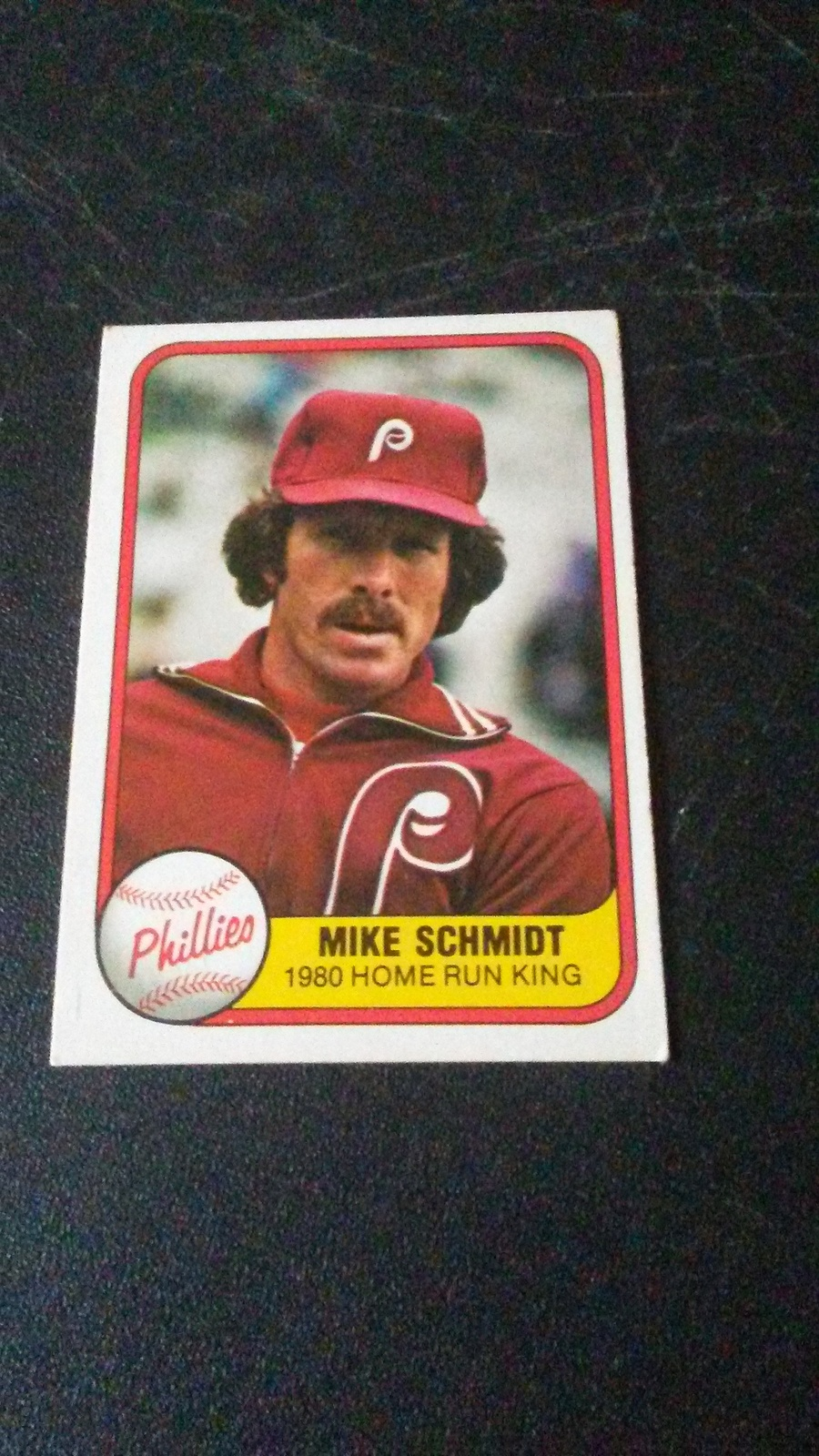 1981 Fleer Mike Schmidt