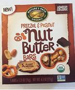 Nature Path Organic, Pretzel & Peanut Nut butter bars 6.2oz 2 Boxes OVRS... - $9.99