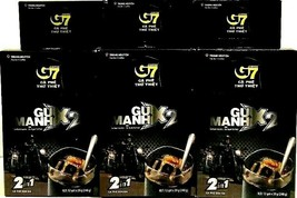 Trung Nguyen G7 2-In-1Instant Coffee 2 x Strong 12 Sticks x 10g ( Pack o... - $59.39