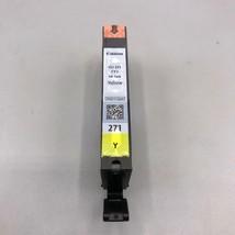 Neu Versiegelt Original Canon CLI-271Y #271 Gelb Tintenpatrone - $27.43