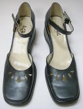 BCBG Shoes Heels Metallic Silver Platform Womens Size 9.5 B US / 40.5 EU Vintage - $39.59
