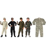 Kids Camouflage US Air Force Costume Military Flight Suit Coveralls - $39.99