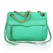 Rebecca MInkoff Swing Convertible Chain Shoulder Bag Crossbody ~NWT~ Sea... - $143.55