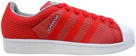 Adidas Superstar Weave Pack Tomato/White S77929 Men's Size 10.5 - $80.00