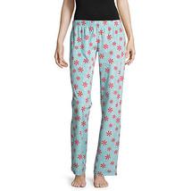 NWT Womens peppermint Fleece Sleep lounge Pants Plaid Pajama Bottoms small - $14.10