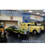 Helms Bakery Daily at Your Door Price Automobilia Collection Metal Sign - $29.95