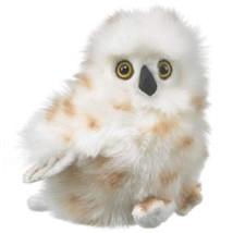 """Wildlife Artists Snowy Owl Plush Toy 7"""" - $8.53"""