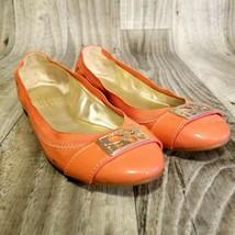 Coach Womens Dora  Sz 6B Pink Gold Ballet Flats Shoes - $29.98